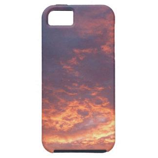 Sonnenuntergang-Yorkshire-Landschaft iPhone 5 Schutzhülle