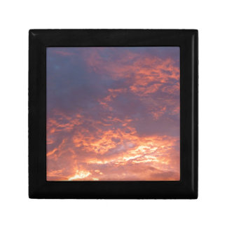 Sonnenuntergang-Yorkshire-Landschaft Schmuckschachtel