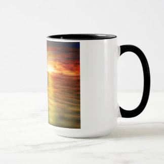 Sonnenuntergangceltic-Delphin Tasse