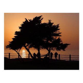 Sonnenuntergänge La Jolla Postkarte