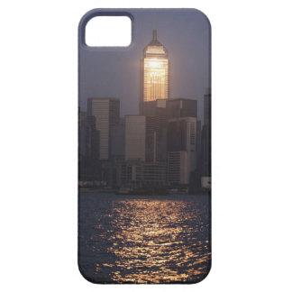 Sonnenuntergangreflexion auf zentraler Piazza Wan iPhone 5 Cover