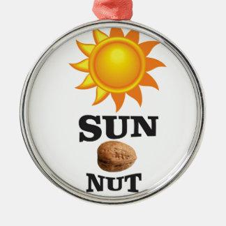 Sonnenuß ja silbernes ornament