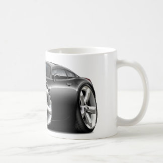 Sonnenwende-schwarzes Auto Kaffeetasse