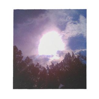 Sonneszene Notizblock
