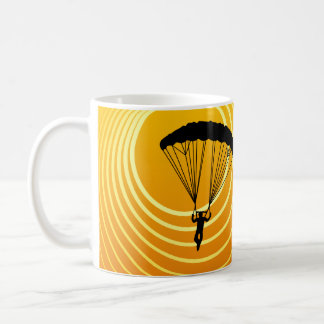 Sonneszene Skydiver Tasse