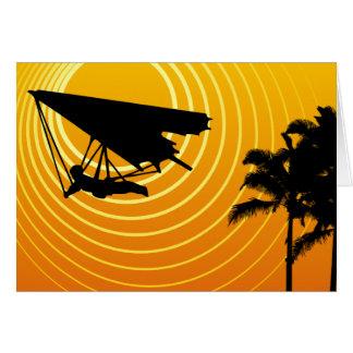 Sonneszenen-Drachenfliegen Karte