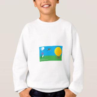 Sonnig-Regnerischer Tag Sweatshirt