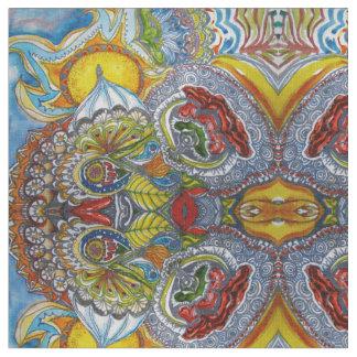 Sonnige Blumensonnenschirm-Entwürfe Stoff