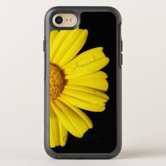Sonnige gelbe Kamille - mit Namen - OtterBox Symmetry iPhone 8/7 Hülle