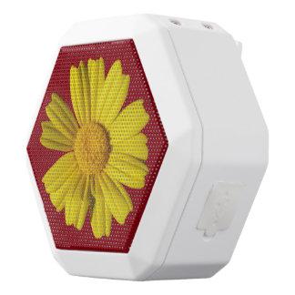 Sonnige gelbe Kamille Weiße Bluetooth Lautsprecher