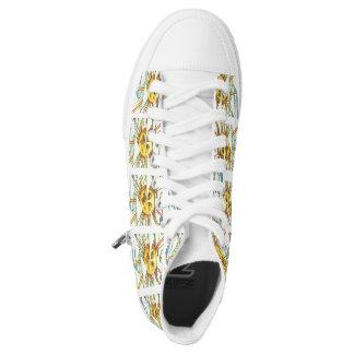 Sonnige hohe Spitzen Hoch-geschnittene Sneaker