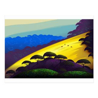 Sonnige Steigung hohes Rez.jpg Postkarte
