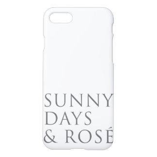 Sonnige Tag- u. Rosé iPhone 7 Fall iPhone 8/7 Hülle