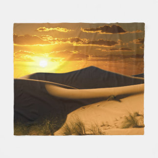 Sonnige Wüsten-Fleece-Decke Fleecedecke