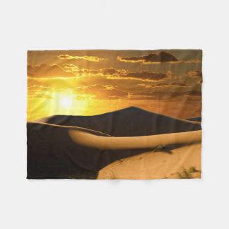Sonnige Wüsten-kleine Fleece-Decke Fleecedecke