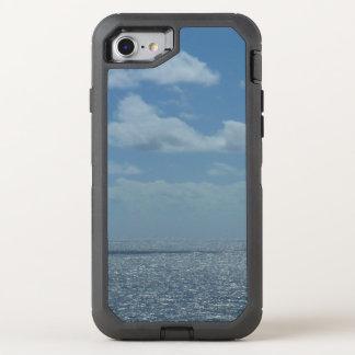 Sonniger karibisches Seeblau-Ozean OtterBox Defender iPhone 8/7 Hülle