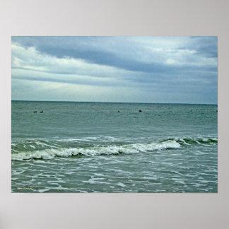 Sonniger Tag auf dem Strand! Poster