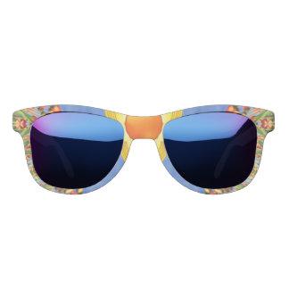 Sonniger Tagesmitternachtsspiegel-Sonnenbrille Brille