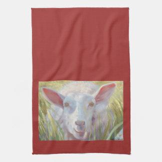 Sonniges Schaf-Geschirrtuch Handtuch