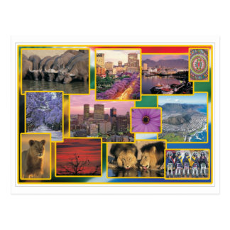 Sonniges Südafrika Postkarte