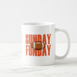 Sonntag Funday Kaffeetasse