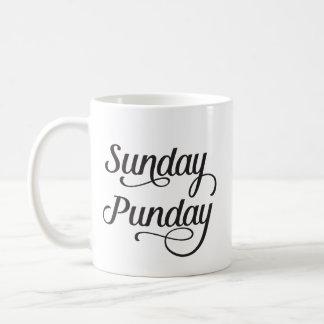 Sonntag Punday Kaffeetasse