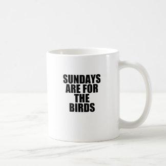 Sonntage Kaffeetasse