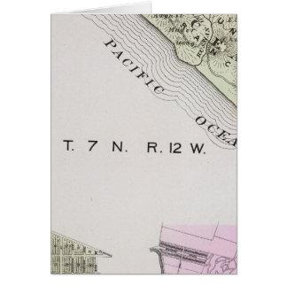 Sonoma County, Kalifornien 28 Karte