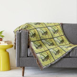 Sonoran Hummer in der gelben Wurfs-Decke Decke