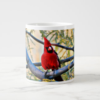 Sonoran Kardinals-Kaffee-Tasse Jumbo-Tasse