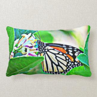 Sonoran Monarchfalter-lumbales Polyester-Kissen Lendenkissen
