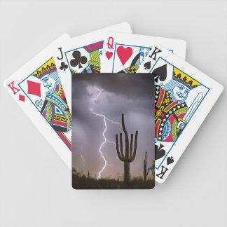 Sonoran Wüsten-Monsun-Stürmen Bicycle Spielkarten