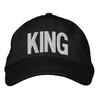 Sooled König Bestickte Baseballkappe