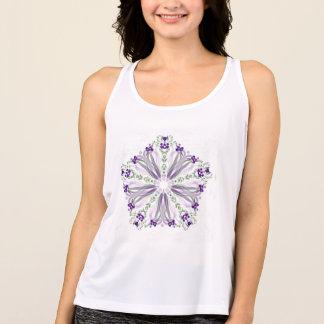 *~*Soothing heilende Energie-Mandala Tank Top