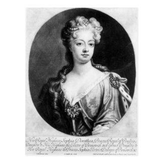 Sophia Dorothea, Königin von Preußen Postkarte