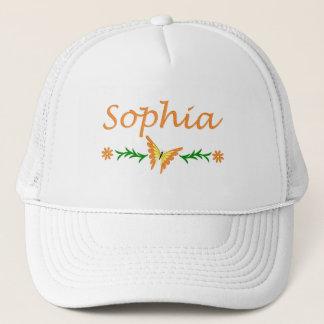 Sophia (orange Schmetterling) Truckerkappe
