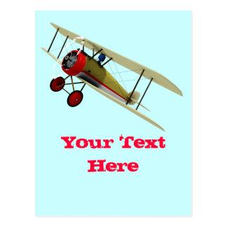 Sopwith Kamel und Pilot Postkarte
