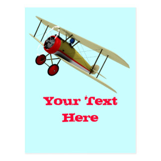 Sopwith Kamel und Pilot Postkarten