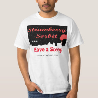 Sorbet-T - Shirt der Männer Erdbeer