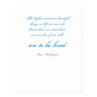 Soren Kierkegaard Postkarte