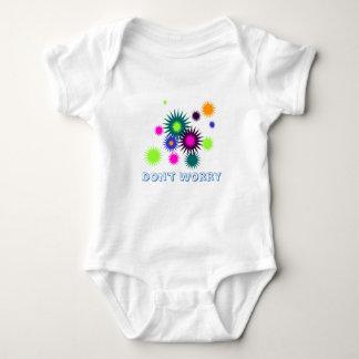 Sorgen Sie sich nicht Babyausstattung Baby Strampler