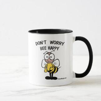 Sorgen Sie sich nicht die glückliche Biene Tasse