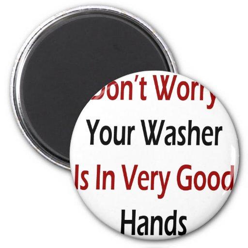Sorgen Sie sich nicht Ihre Waschmaschine ist in de Magnets