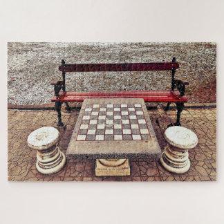 Sorgfalt für ein Spiel des Schachs? Puzzle
