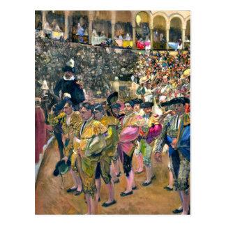 Sorolla - der Bullfighter Postkarte
