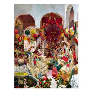 Sorolla: Sevilla-D Tanz Postkarte