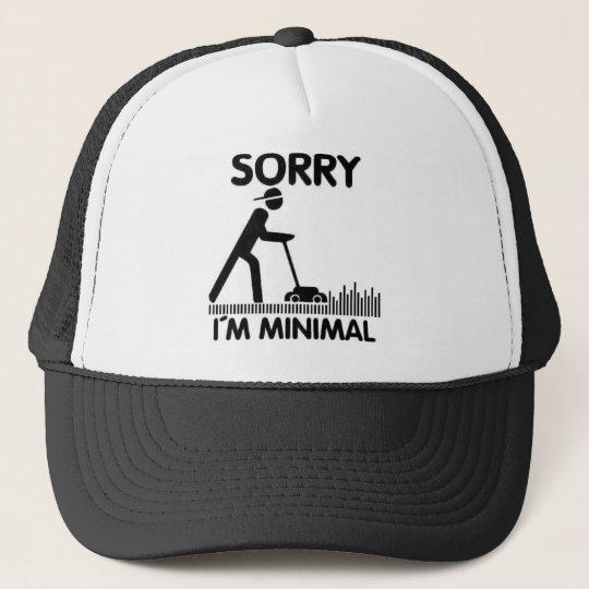 Sorry  i´m minimal truckerkappe