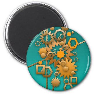 Sorta Steampunk Runder Magnet 5,7 Cm