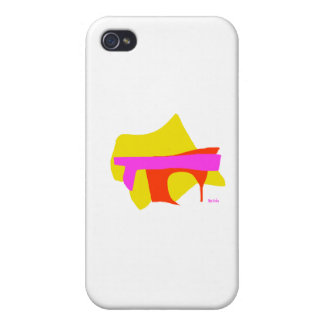 Sortiertes abstraktes iPhone 4 hülle