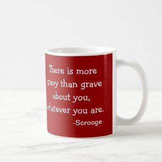 Soße-D Scrooge Sammlung Kaffeetasse